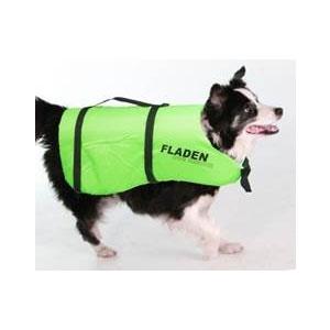 Image of Fladen Dog Flotation Vest - Lime Green