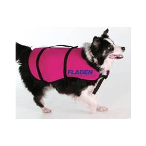 Image of Fladen Dog Flotation Vest - Pink