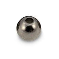 Fulling Mill Black Tungsten Beads - 25 Pack