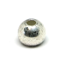 Fulling Mill Silver Tungsten Beads - 25 Pack