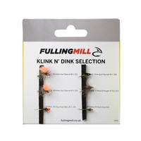 Fulling Mill Grab A Pack - Klink N' Dink Selection - 6 Flies