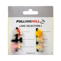 Fulling Mill Grab A Pack - Lake Selection 1 - 6 Flies