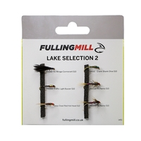 Fulling Mill Grab A Pack - Lake Selection 2 - 6 Flies