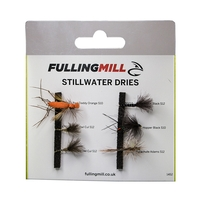 Fulling Mill Grab A Pack - Stillwater Dries Selection - 6 Flies
