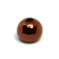 Fulling Mill Metallic Brown Tungsten Beads - 25 Pack