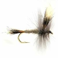 Fulling Mill Mayfly Grey Wulff Fly