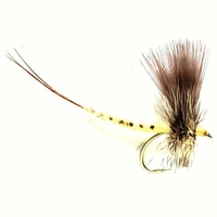 Fulling Mill Mayfly Silhouette Fly