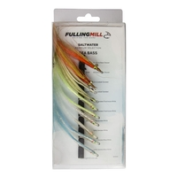 Fulling Mill Premium Sea Bass Fly Selection - 10 Flies