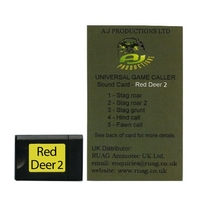 Game Magnet Sound Card 8 (Red Deer 2) for Universal Game Caller