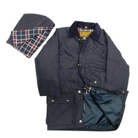 Game Childrens Padded Wax Jacket