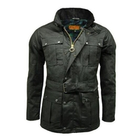 Game Continental Wax Jacket