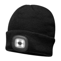 Game Unisex Beanie Hat with LED Headlight
