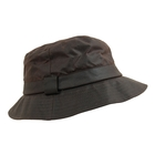 Image of Game Wax Cotton Bucket Hat - Brown