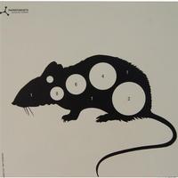 Flip Target Paper Targets - Rat - 50pk
