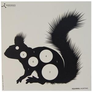 Image of Flip Target Paper Targets - Squirrel - 50pk