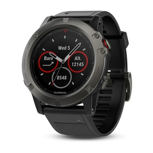 Image of Garmin Fenix 5x Sapphire GPS Watch - Slate Grey