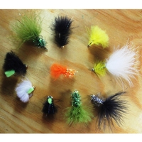 Gone Fishing 20 Mixed Flies Selection - Beaded Streamers