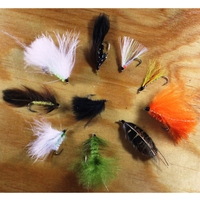 Gone Fishing 20 Mixed Flies Selection - Streamers