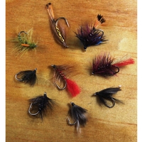 Gone Fishing 20 Mixed Flies Selection - Wets