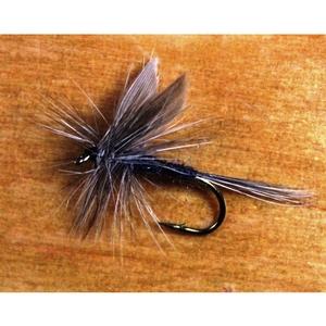 Image of Gone Fishing Blue Dun Flies - 12 Pack