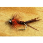 Image of Gone Fishing Pheasant Tail Orange Flies - 12 Pack