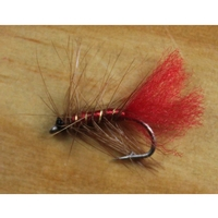 Gone Fishing Soldier Palmer Wet Flies - 12 Pack