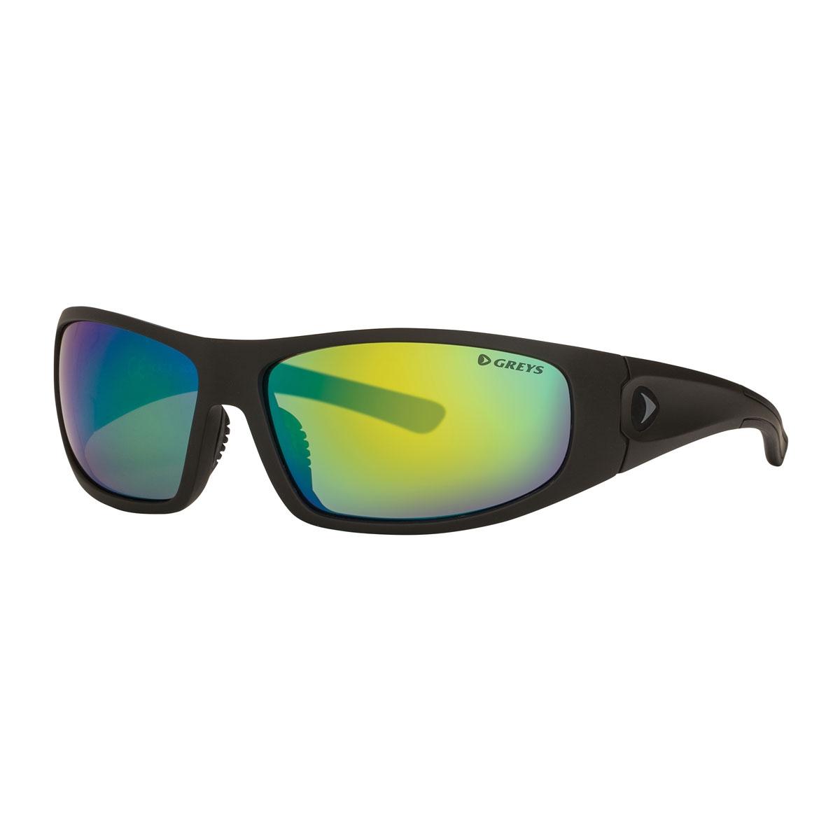 a38a212b28 Image of Greys G1 Sunglasses - Matt Carbon Frame Green Mirror Lens ...