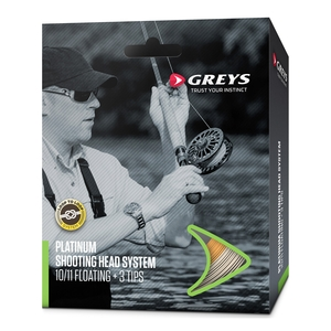 Image of Greys Platinum Shooting Head System Spey Line
