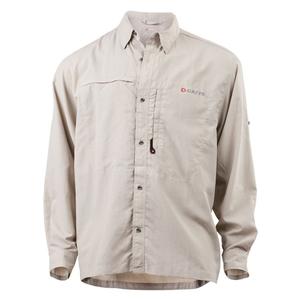 Image of Greys Strata Fishing Shirt - Stone