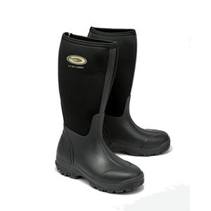 Image of Grubs Frostline Neoprene Wellington Boots (Unisex) - Black