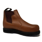 Image of Grubs Fury Worklite Safety Dealer Boot (No Box) - Tan Oily Full Grain