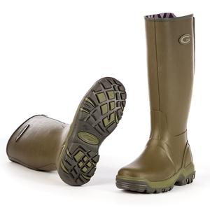 Image of Grubs Rainline Wellington Boots (Women's) - Green