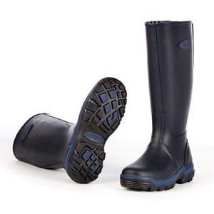 Image of Grubs Rainline Wellington Boots (Women's) - Navy