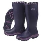 Image of Grubs Rainline Wellington Boots (Women's) - Aubergine