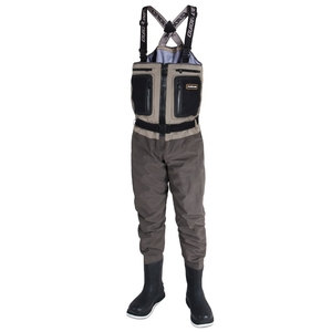 Image of Guideline Alta Sonic Bootfoot Waders - Coal