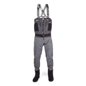 Image of Guideline Alta Sonic Tizip Waders - Charcoal