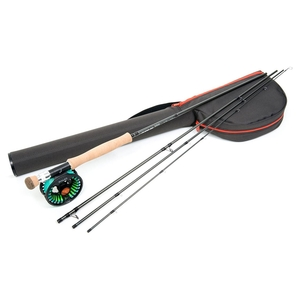 Image of Guideline Laxa Sea Trout Fly Fishing Kit - 9ft 6in - #7