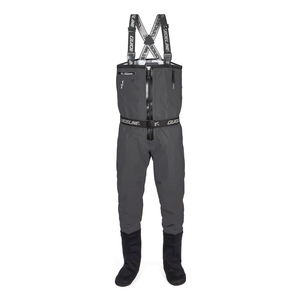 Image of Guideline Experience Sonic Tizip Waders - Charcoal