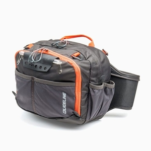 Image of Guideline Experience Waistbag - Large - Graphite with Dynamite contrasts