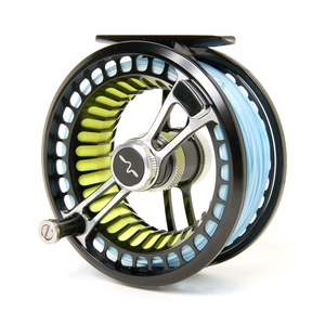 Image of Guideline Fario LW 46 Fly Reel - Left Hand Wind - Anthracite