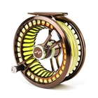 Image of Guideline Fario LW 24 Fly Reel - Left or Right Hand Wind - Bronze