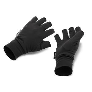 Image of Guideline Fir Skin Fingerless Gloves - Black