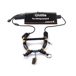 Image of Guideline Ghillie Lanyard - Black