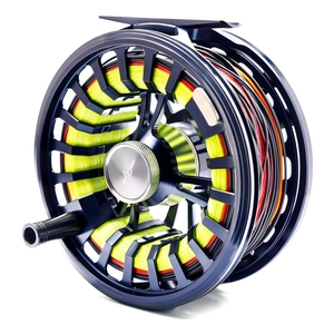 Image of Guideline Halo Fly Reel - #9/11 DH - Dark Grey