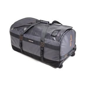 Image of Guideline Large Roller Bag - Grey with black and orange details