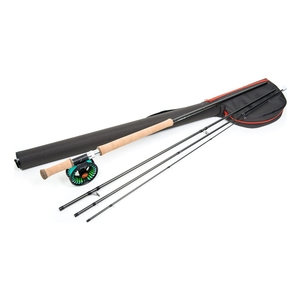 Image of Guideline Laxa Sea Trout Fly Fishing Kit - 12ft - #7/8