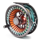 Image of Guideline Vosso 911 Fly Reel - Left Hand Retrieve - Dark Grey
