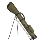 Image of Hamilton Shooting Extra Long Shotgun Slip Stand - Olive Green