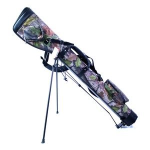 Image of Hamilton Shooting Shotgun Slip Stand - Jack Pyke English Oak Evo Camo