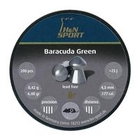 H&N Baracuda Green .177 Pellets x 200